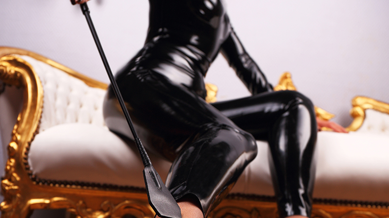 Domina in Latex
